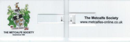 Metcalfe Society USB memory card