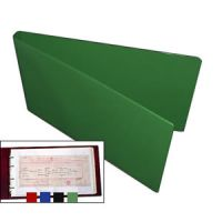 Certificate Folder & 10 Free Polypockets - Green