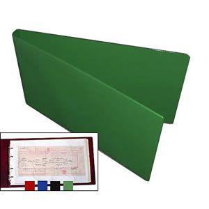 Certificate Folder & 10 Free Polypockets - Green