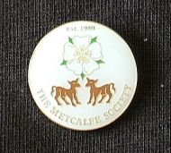 Yorkshire Rose/Calves Badge/Lapel Pin